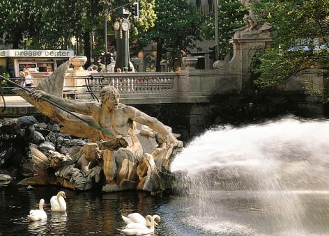Triton-Brunnen an der Königsallee