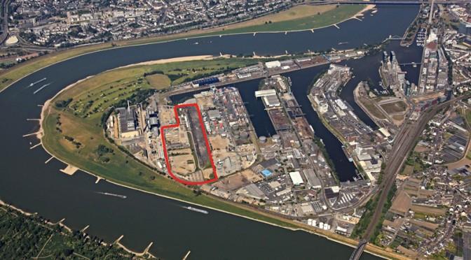 Neues Logistikzentrum im Düsseldorfer Hafen