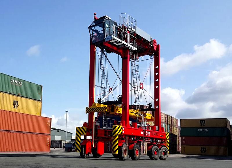 Kategorie technik hafenzeitung - Terex material handling port solutions ag ...