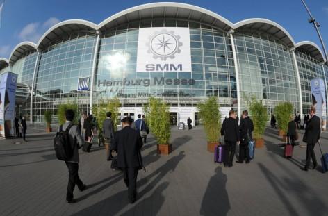 SMM 2014  Eingang Mitte Messeplatz
