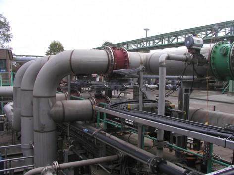 So sieht das neue Rohrleitungssystem aus, dass es ermöglicht, dass in der Abwassereinigung so viel Strom gespart wird.