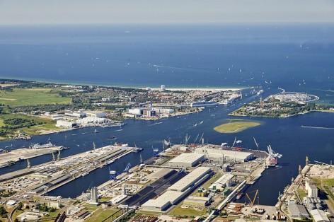 Luftaufnahme Seehafen Rostock 2015 Foto: rostock port/ nordlicht