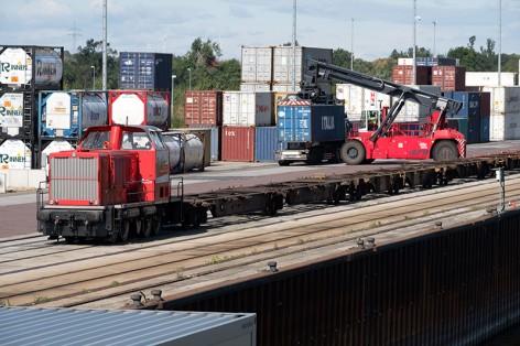 SWH, Hafen Halle GmbH, Hafenbetrieb, Containerterminal