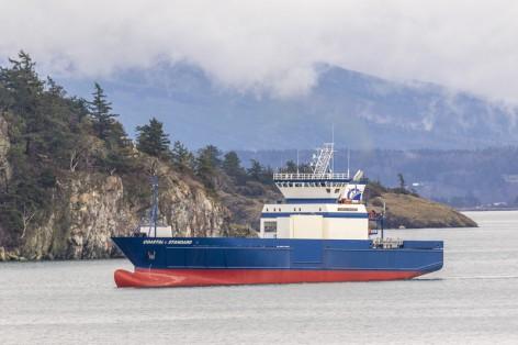 Cargo Vessel Coastal Standard Copyright Coastal Transportation