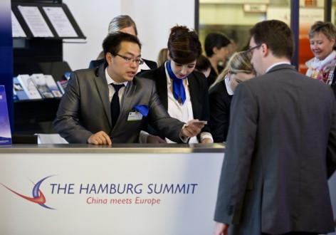 Hamburg Summit 2014, China meets Europe, Hamburg Chamber of Commerce, Hamburg, Northern Germany, Friday October 10, 2014 Reception