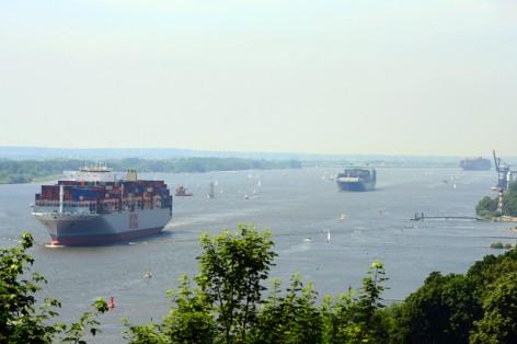 Elbe Hamburg 9.6.2014