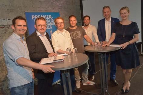 """Wake up Call"" Digitalisierung mit Robert JŠnisch, Ekkerhard Boden, Michael Cames, Philipp Depiereux, Peter Hornik, Dirk BrŸgge und Carmen Hentschel"