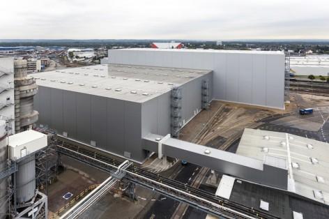 © Olaf Döring, Düsseldorf Tel: +49 163 3032807 Henkel AG & Co. KGaA Halle, Lagerhalle, Neubau Nähe Tor 5